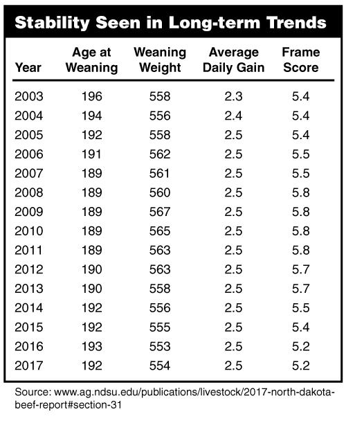 Stability Seen in Long-term Trends
