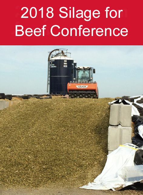 The silage for beef cattle conference will be held June 14 at the Eastern Nebraska Research and Extension Center near Mead.